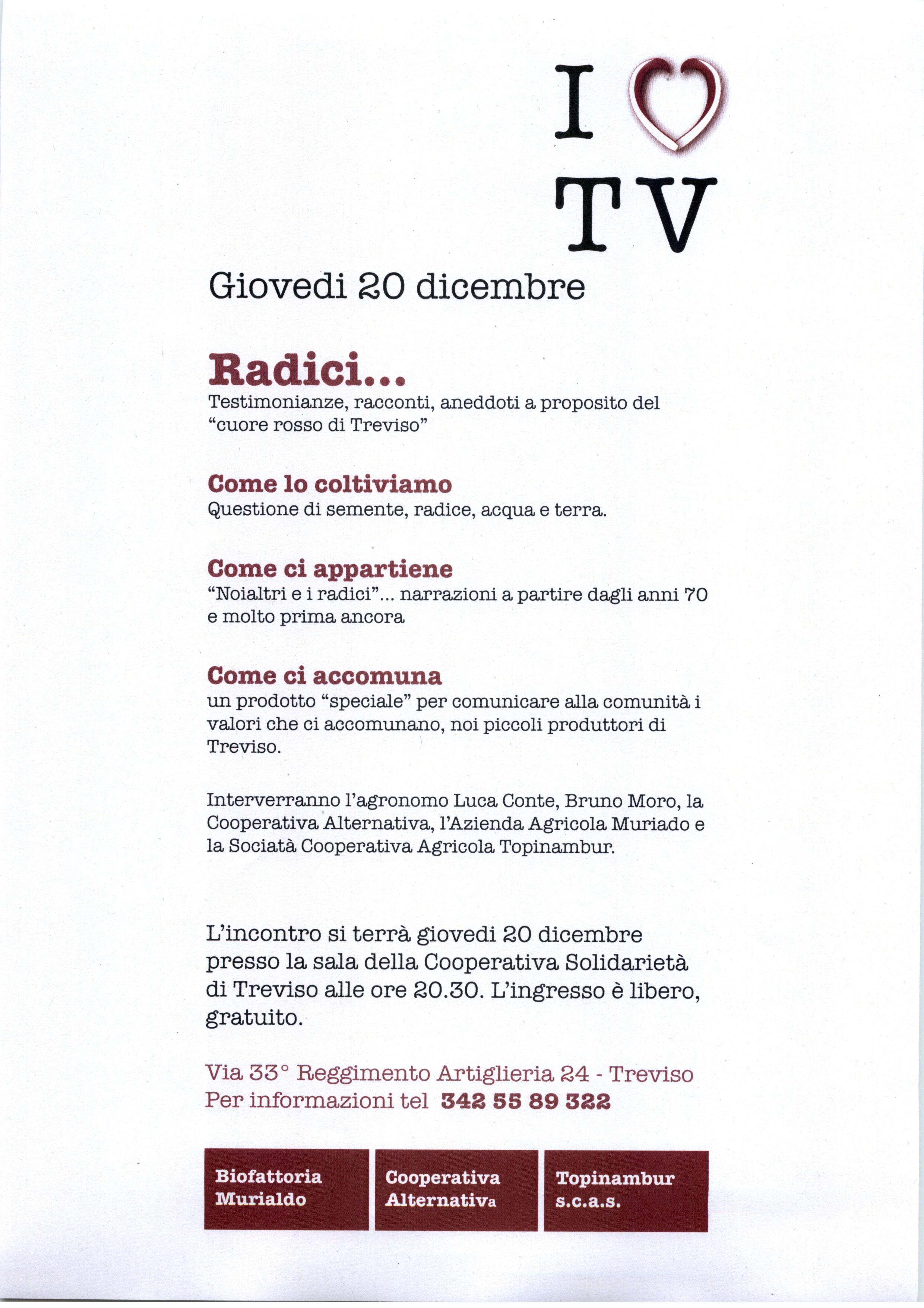 20 Dicembre 2012 – Radici – Treviso