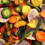 αποξηραμένα λαχανικά